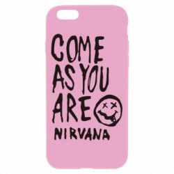 Чехол для iPhone 6/6S Come as you are Nirvana - FatLine