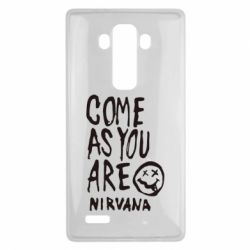 Чехол для LG G4 Come as you are Nirvana - FatLine
