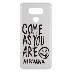Чехол для LG G6 Come as you are Nirvana - FatLine