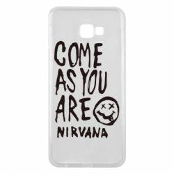 Чехол для Samsung J4 Plus 2018 Come as you are Nirvana - FatLine