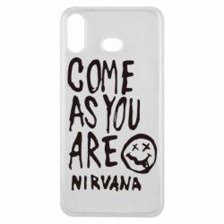 Чехол для Samsung A6s Come as you are Nirvana - FatLine