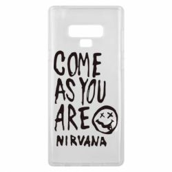 Чехол для Samsung Note 9 Come as you are Nirvana - FatLine