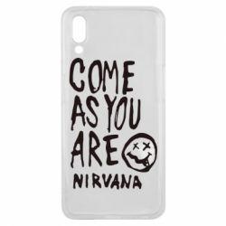 Чехол для Meizu E3 Come as you are Nirvana - FatLine