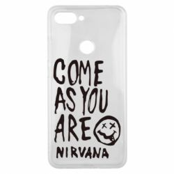 Чехол для Xiaomi Mi8 Lite Come as you are Nirvana - FatLine
