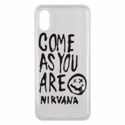 Чехол для Xiaomi Mi8 Pro Come as you are Nirvana - FatLine