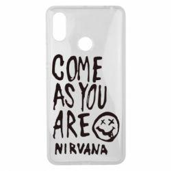 Чехол для Xiaomi Mi Max 3 Come as you are Nirvana - FatLine