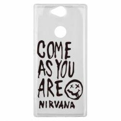 Чехол для Sony Xperia XA2 Plus Come as you are Nirvana - FatLine