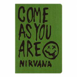 Блокнот А5 Come as you are Nirvana - FatLine