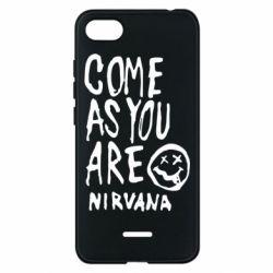 Чехол для Xiaomi Redmi 6A Come as you are Nirvana - FatLine