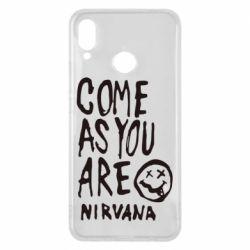 Чехол для Huawei P Smart Plus Come as you are Nirvana - FatLine
