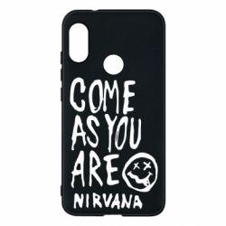Чехол для Mi A2 Lite Come as you are Nirvana - FatLine