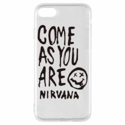 Чехол для iPhone 7 Come as you are Nirvana - FatLine