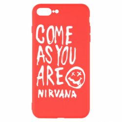 Чехол для iPhone 7 Plus Come as you are Nirvana - FatLine