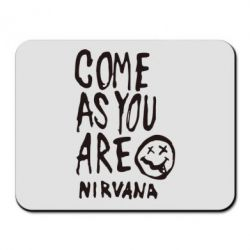 Коврик для мыши Come as you are Nirvana - FatLine