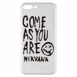 Чехол для iPhone 8 Plus Come as you are Nirvana - FatLine