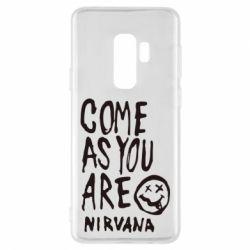 Чехол для Samsung S9+ Come as you are Nirvana - FatLine