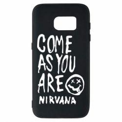 Чехол для Samsung S7 Come as you are Nirvana - FatLine