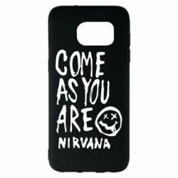 Чехол для Samsung S7 EDGE Come as you are Nirvana - FatLine