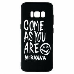Чехол для Samsung S8 Come as you are Nirvana - FatLine