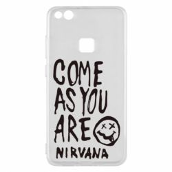 Чехол для Huawei P10 Lite Come as you are Nirvana - FatLine