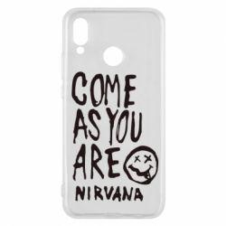 Чехол для Huawei P20 Lite Come as you are Nirvana - FatLine