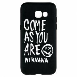 Чехол для Samsung A5 2017 Come as you are Nirvana - FatLine