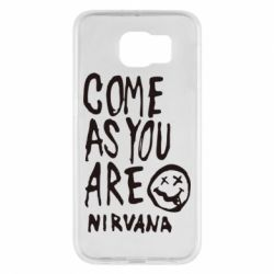 Чехол для Samsung S6 Come as you are Nirvana - FatLine