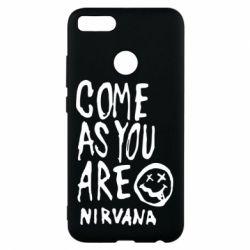 Чехол для Xiaomi Mi A1 Come as you are Nirvana - FatLine