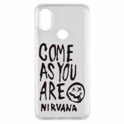 Чехол для Xiaomi Mi A2 Come as you are Nirvana - FatLine