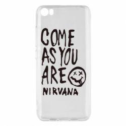 Чехол для Xiaomi Xiaomi Mi5/Mi5 Pro Come as you are Nirvana - FatLine