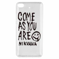 Чехол для Xiaomi Mi 5s Come as you are Nirvana - FatLine
