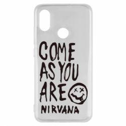 Чехол для Xiaomi Mi8 Come as you are Nirvana - FatLine