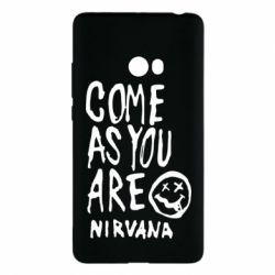 Чехол для Xiaomi Mi Note 2 Come as you are Nirvana - FatLine