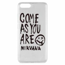 Чехол для Xiaomi Mi Note 3 Come as you are Nirvana - FatLine