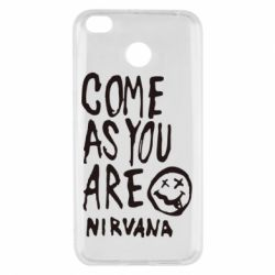 Чехол для Xiaomi Redmi 4x Come as you are Nirvana - FatLine