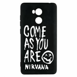 Чехол для Xiaomi Redmi 4 Pro/Prime Come as you are Nirvana - FatLine