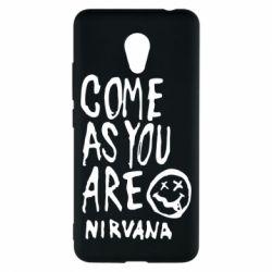 Чехол для Meizu M5c Come as you are Nirvana - FatLine