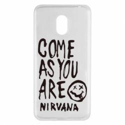 Чехол для Meizu M6 Come as you are Nirvana - FatLine