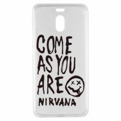 Чехол для Meizu M6 Note Come as you are Nirvana - FatLine