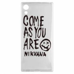 Чехол для Sony Xperia XA1 Come as you are Nirvana - FatLine