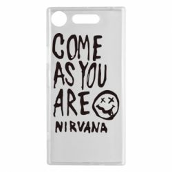 Чехол для Sony Xperia XZ1 Come as you are Nirvana - FatLine