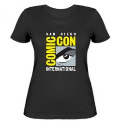 Жіноча футболка Comic-Con International: San Diego logo