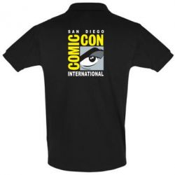 Футболка Поло Comic-Con International: San Diego logo