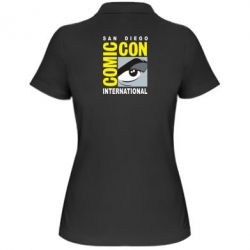 Жіноча футболка поло Comic-Con International: San Diego logo