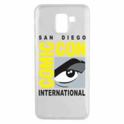 Чохол для Samsung J6 Comic-Con International: San Diego logo