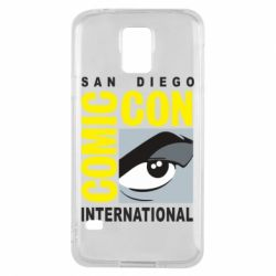Чохол для Samsung S5 Comic-Con International: San Diego logo