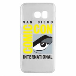 Чохол для Samsung S6 EDGE Comic-Con International: San Diego logo