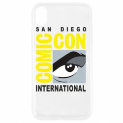 Чохол для iPhone XR Comic-Con International: San Diego logo