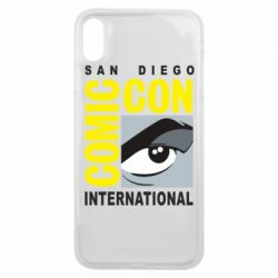 Чохол для iPhone Xs Max Comic-Con International: San Diego logo
