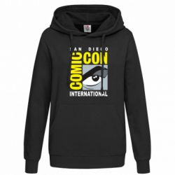 Толстовка жіноча Comic-Con International: San Diego logo